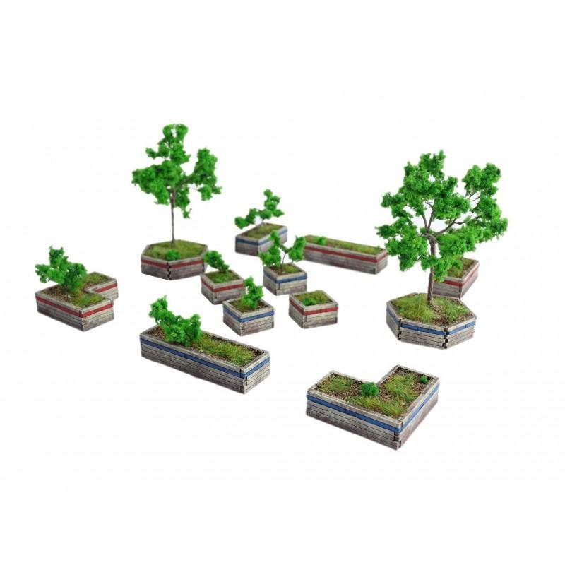 T046 - Parterres de plantes