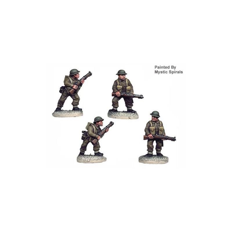 WWB001 Infanterie avec fusils
