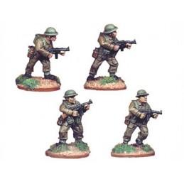 WWB004 Infanterie avec pistolets-mitrailleurs Thompson