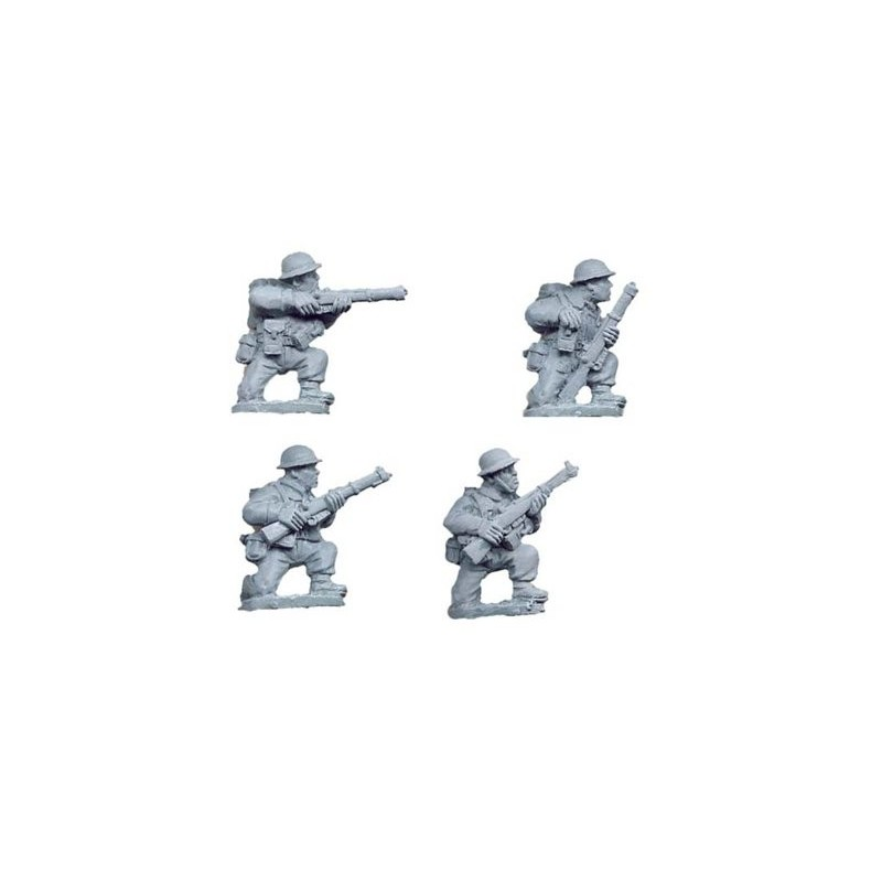 WWB006 Infanterie à genoux