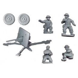 WWB011 Canon 2pdr anti-char et servants