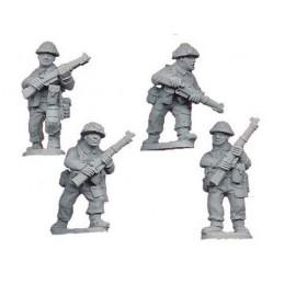 WWB101 - Infanterie avec fusils (fin de guerre)