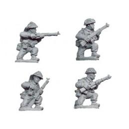 WWB106 Infanterie à genoux (fin de guerre)