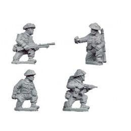 WWB107 Equipes Bren et commandement à genoux