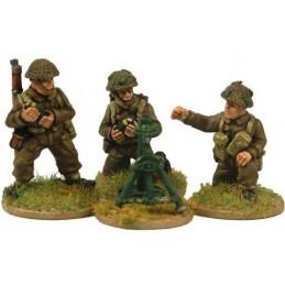WWB110 Mortier de 3inch avec servants (fin de guerre)
