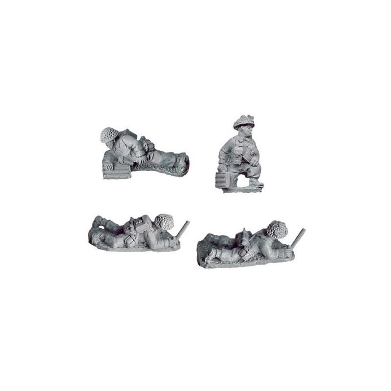 WWB112 Mortier de 2inch avec servants (fin de guerre)
