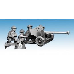 WWB121 - Canon MKIV 6 Pdr avec servants (fin de guerre)