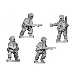 WWB204 Parachutistes avec fusils mitrailleurs Bren