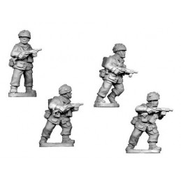 WWB204 Parachutistes avec pistolets-mitrailleurs Sten