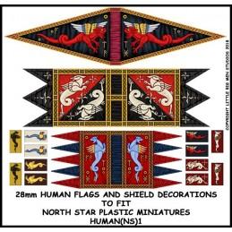 HUMAN(NS)1 - Bannières humaines