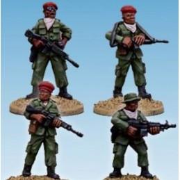 Soldats africains réguliers/mercenaires