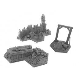 Ruines d'église/chapelle/tombeau