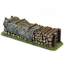28612CB Pile de bois