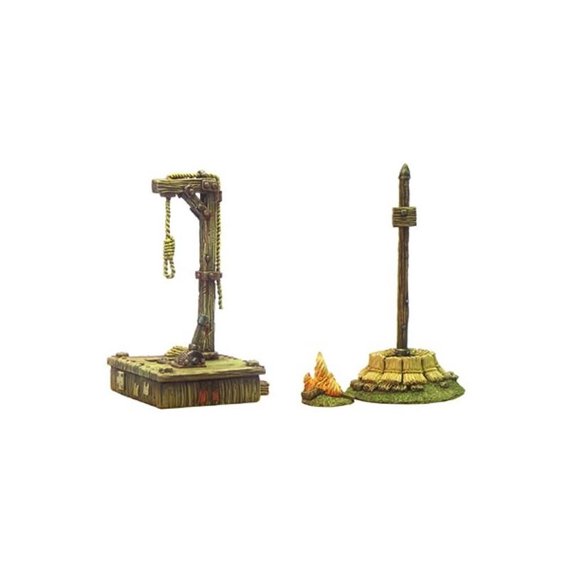 Bucher-potence (Hauteur 6,5cm) 3 éléments