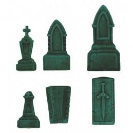 Accesoires de cimetière 6 éléments en résine