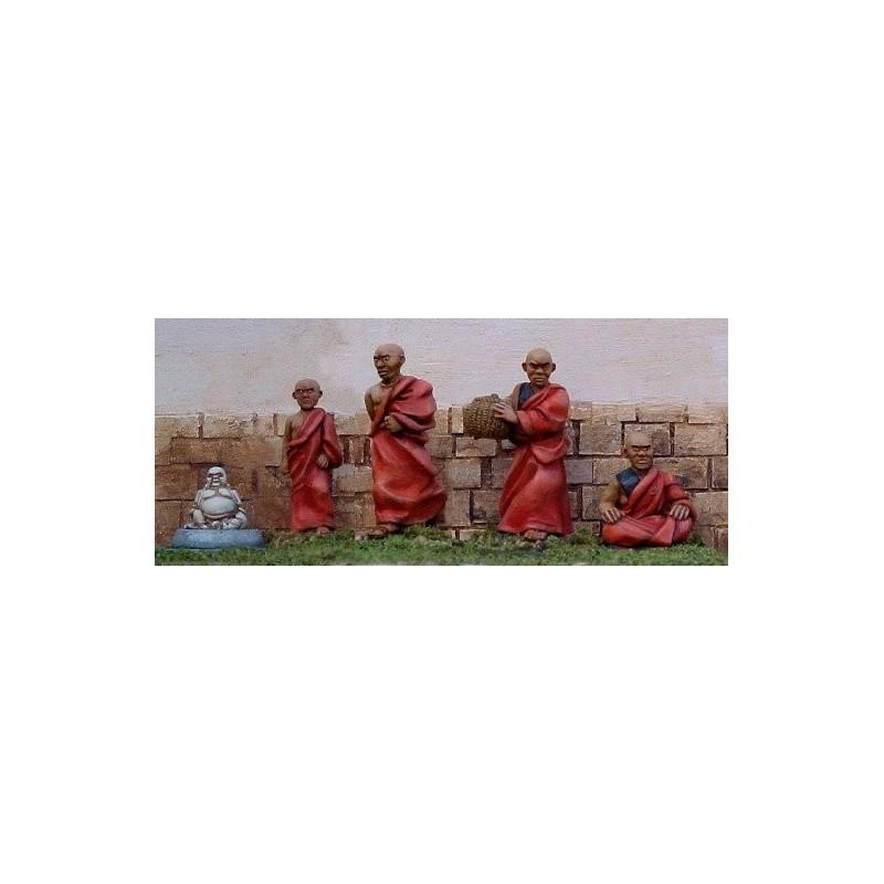 PCS10 Moines bouddhistes