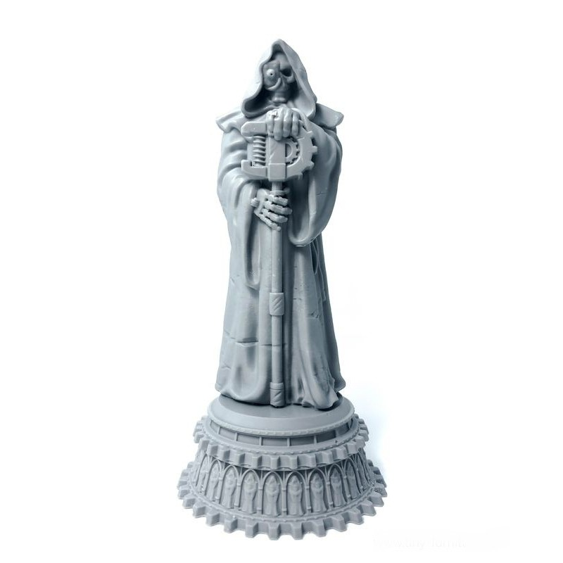 Statue de servant du dieu Machine