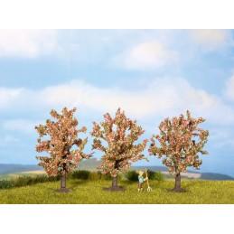 25112 Arbres fruitiers (fleurs roses)