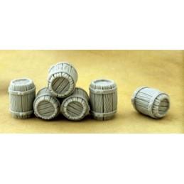Tonneaux en bois