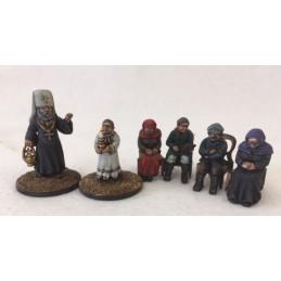 Set de personnages pour église