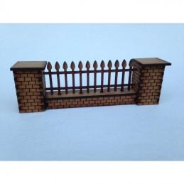 Mur et clôture (feuilles)