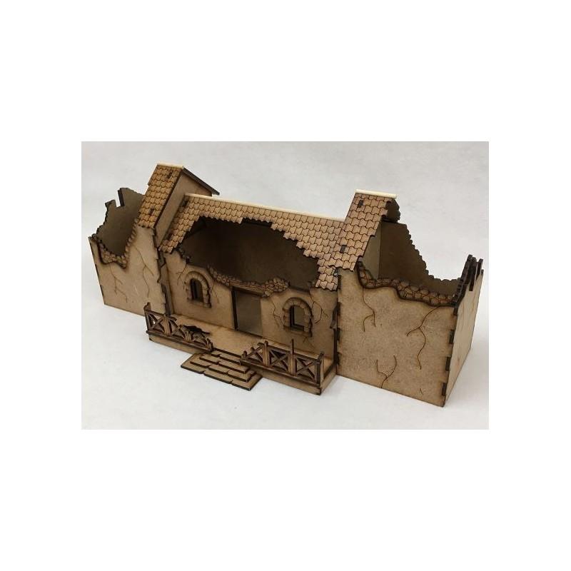 Villa romaine en ruine