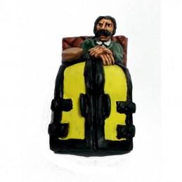 Set de figurines pour cabriolet (Hansom cab)