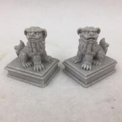 Paire de Lions