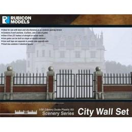 Murs/enceintes pour ville/chateau