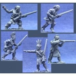 CC-67011 - Guerriers mohawks avec mousquets 17ème