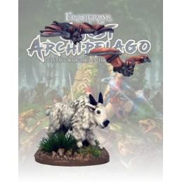 FGA405 - Chèvre de montagne et chauve-souris