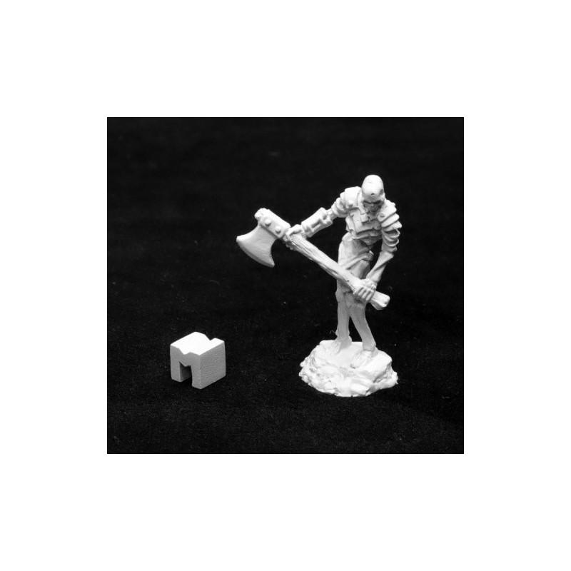 03943 Squelette avec hache