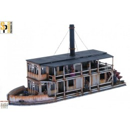 G060 - Colonial Paddle Steamer