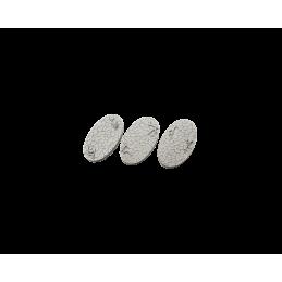 Bases ovales de 75mm