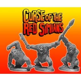Grands singes rouges
