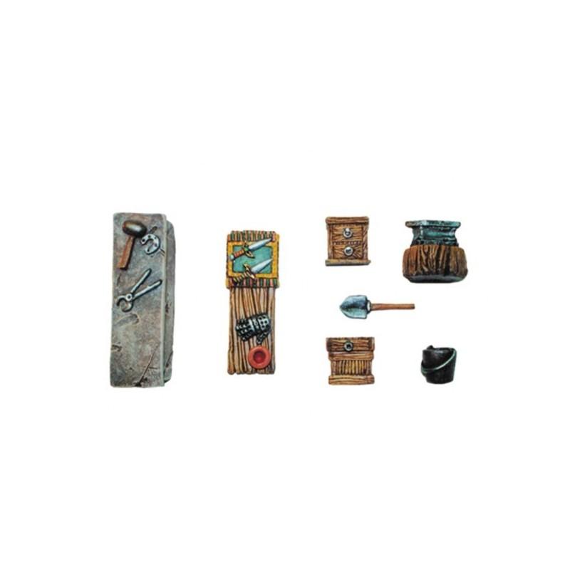 Accessoires de forge (7 éléments)