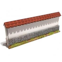 Mur droit de 10cm