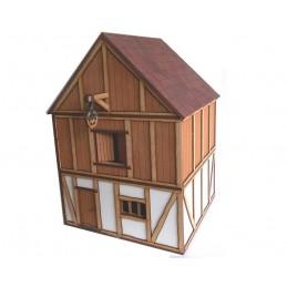 Maison avec grenier à foin