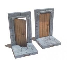 Dalles de 3cm avec portes...