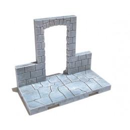 Mur avec petite arche