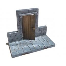 Mur avec petite porte