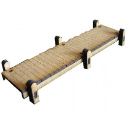 Jetée en bois de 15cm