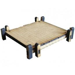 Jetée en bois de 9cm x 9,5cm