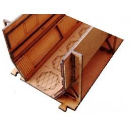 Couloir étroit (longueur 10cm)