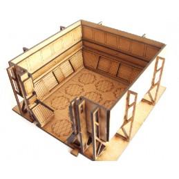 Chambre étroite 7,5 x 7,5cm...