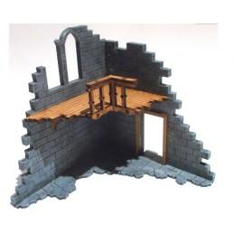 Ruine avec balcon