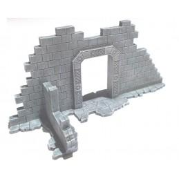 Ruine naine avec arche