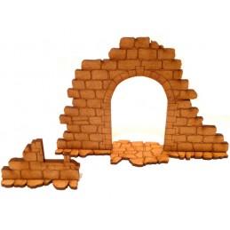 Ruine avec arche