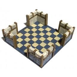 Maison carrée de 9 x 9cm...