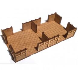 Maison de 18 x 9cm (2...